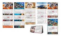 Próbki kalendarzy